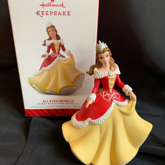Princess Belle Winter Ornament